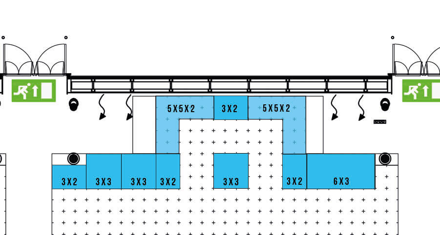 CCON | COMIC CON STUTTGART 2020 | Special Dealers Area (IMPORTANT: the offer refers ONLY to the clean stand area without partitions or other equipment)