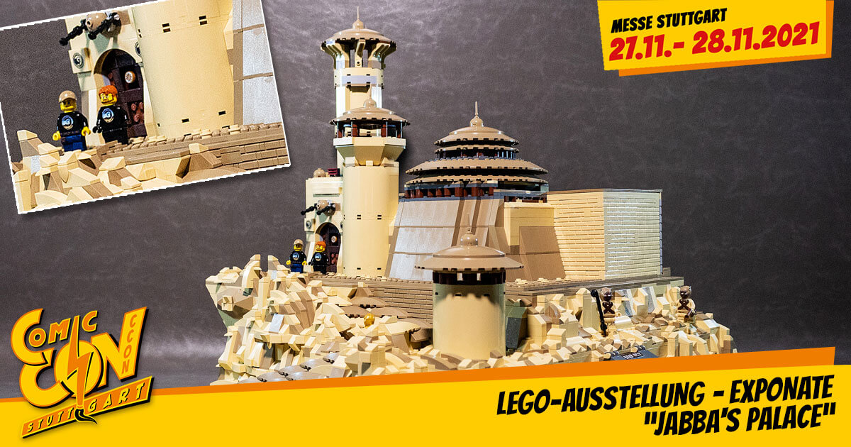 "CCON | COMIC CON STUTTGART 2021 | Specials | LEGO-Ausstellung - Exponate: ""Jabba's Palace"""